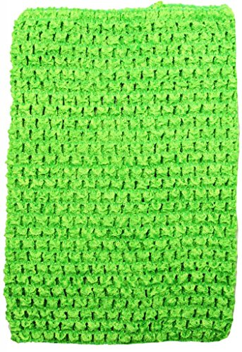 Dress Up Dreams Boutique Wholesale Princess 8 Inch Lime Crochet Top For Kids Sold Individually -