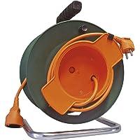 Emos - Carrete alargador de Cable para jardín