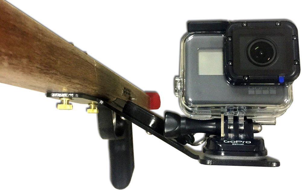 Speargun カメラマウント GoPro用 格納式ランヤード付き   B074VZWK8W