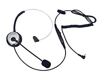 Coodio Teléfono fijo inalámbrico DECT Auriculares [conmutador de silencio] [Control de Volumen]
