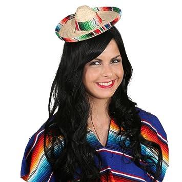 21eb4e213b97f Pequeño Sombrero Sombrero mexikaner Mini sombrero miniatura mexikaner sombrero  mexicano Salvatore México Sombrero de paja sombrero de verano faschings ...