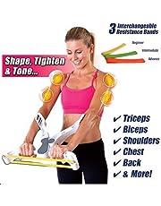 EXOH Brazos de resistencia para equipo de fitness, hombros y espalda en el pecho,