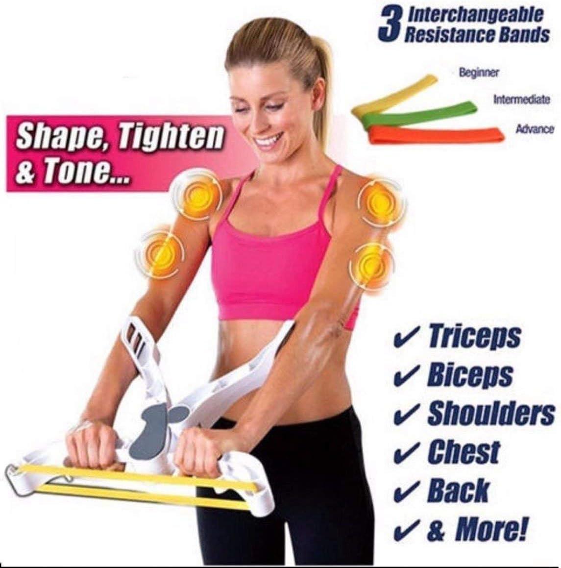 EXOH r/ésistance /à la force de fitness Body Wonder Bras /épaules Coffre arri/ère Fitness Bande dexercice Renforce machine