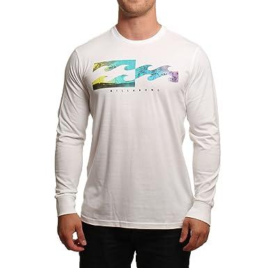 03bf24f6dd3c9 BILLABONG Men s Inverse Long Sleeved T Shirt Top (LARGE