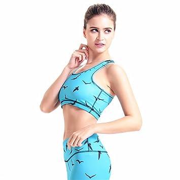 Jxth-cl Camisetas sin Mangas de Sujetador de Yoga para muj ...