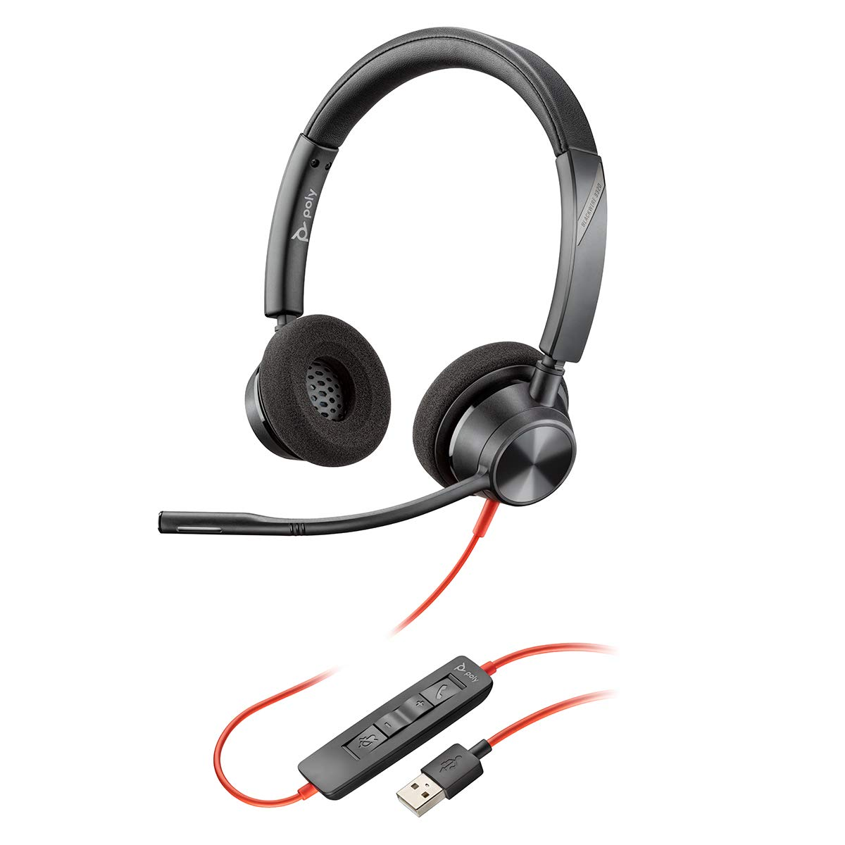 Plantronics Blackwire 3320 USB-A Headset