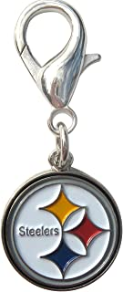 product image for Diva-Dog Pittsburgh Steelers Dog Collar Charm