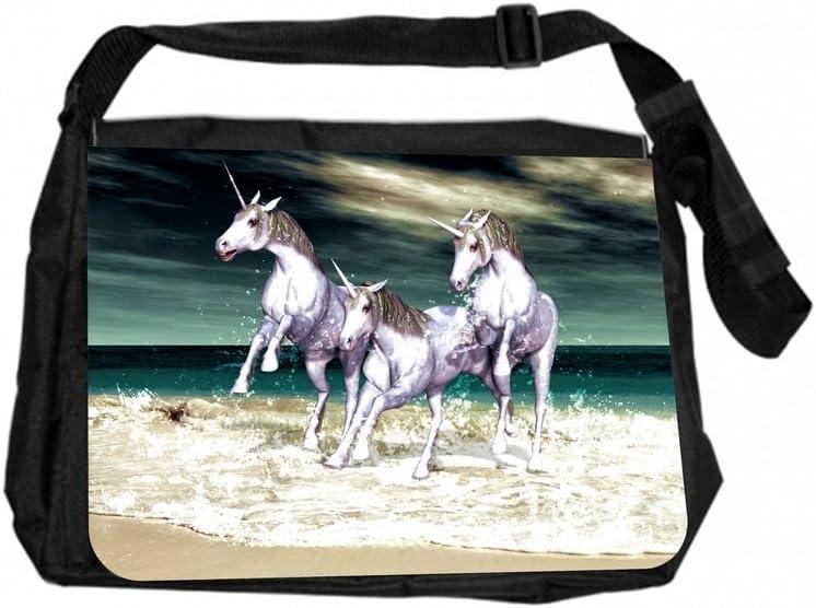 Unicorns on The Beach Jacks Outlet JOI-MB-148 TM Messenger Bag