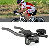 Top Home Dec TT Handlebar Aero Bars Triathlon Time Trial Tri Cycling Bike Rest Handlebar for...