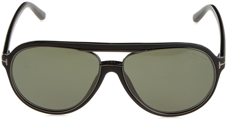 c8a81ebf0ee87 Amazon.com  Tom Ford TF379 02R Matte Black Sergio Pilot Sunglasses Lens  Category 3 Size 60m  Tom Ford  Clothing