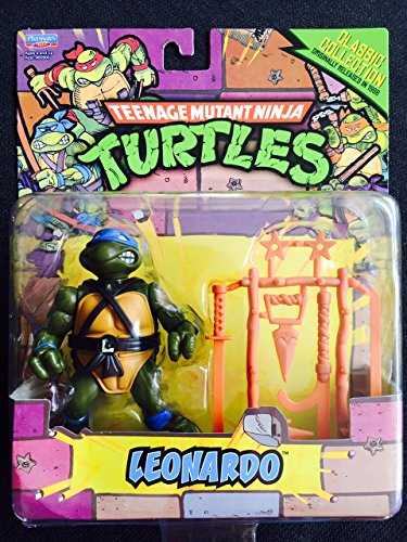 Teenage Mutant Ninja Turtles, Classic Collection, Leonardo Action Figure, 4 Inches