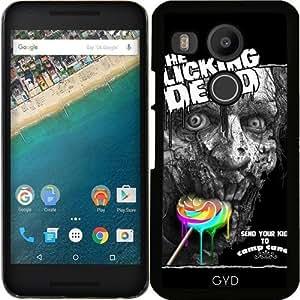 Funda para Google Nexus 5X (LG) - Los Muertos Lamiendo by Adam Lawless