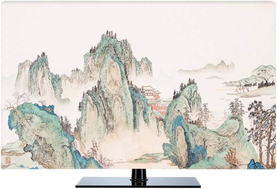 Ting Ting Cubiertas Protectoras Nuevo Chino A Prueba De Polvo Protege Los Televisores TV LCD Display Tingting-Funda para Monitor (Color : Valley, Size : 37inch): Amazon.es: Hogar