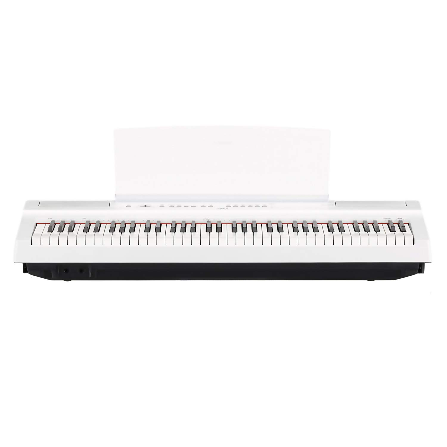Yamaha P121 73-Key Weighted Action Digital Piano - White with Matching L121 White Furniture Stand and Bench by Yamaha Bundle (Image #3)