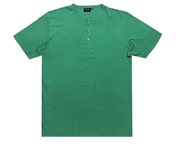Größe 2XL-8XL,5 Farben Optionen Espionage Single Jersey Opa T-Shirt T184-16