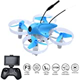 DLFPV Mini UFO Quadcopter Drone with F3 Flight Controller 5.8G Transmitter 6 Axis Gyro Racing Drone Designed for Racer Edition Indoor Drone Quadcopter