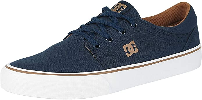 DC Shoes Trase TX Sneakers Herren Navy Camel Marineblau