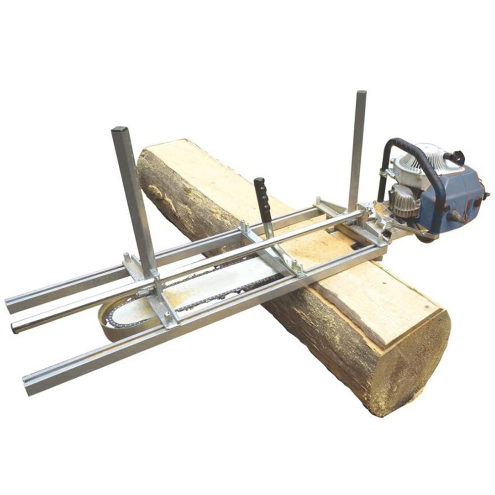 Lukcase 36'' Portable Chainsaw Mill Planking Milling for Saw Bar Size 14'' to 36'' Wood Cutting Slabbing Lumber Planks by Lukcase (Image #5)
