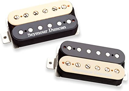 Seymour Duncan SHPG-1n /& 1b Pearly Gates Guitar Trembucker Pickup Set ZEBRA NEW
