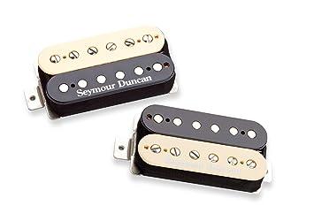 Amazon.com: Seymour Duncan Pearly Gates Set Zebra Electric Guitar ...
