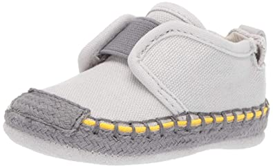 3a1ef3f23c17 Amazon.com | Robeez Baby Boy's Espadrille-First Kicks Crib Shoe | Shoes