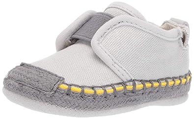 856f539e Amazon.com | Robeez Baby Boy's Espadrille-First Kicks Crib Shoe | Shoes