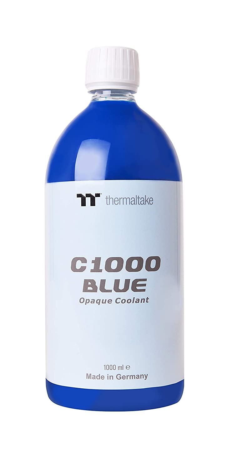 Thermaltake CL-W114-OS00BU-AC1000 Opaque Water Cooling Coolant - Blue
