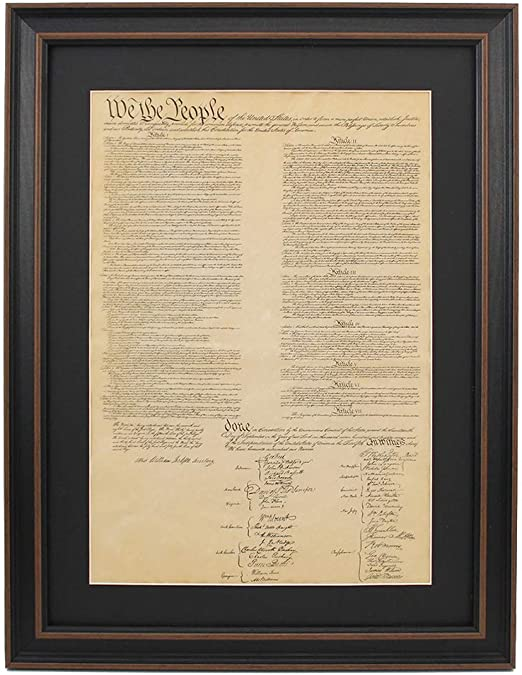 Amazon|ポスターサイズアメリカ合衆国憲法;ポスターサイズwith ...