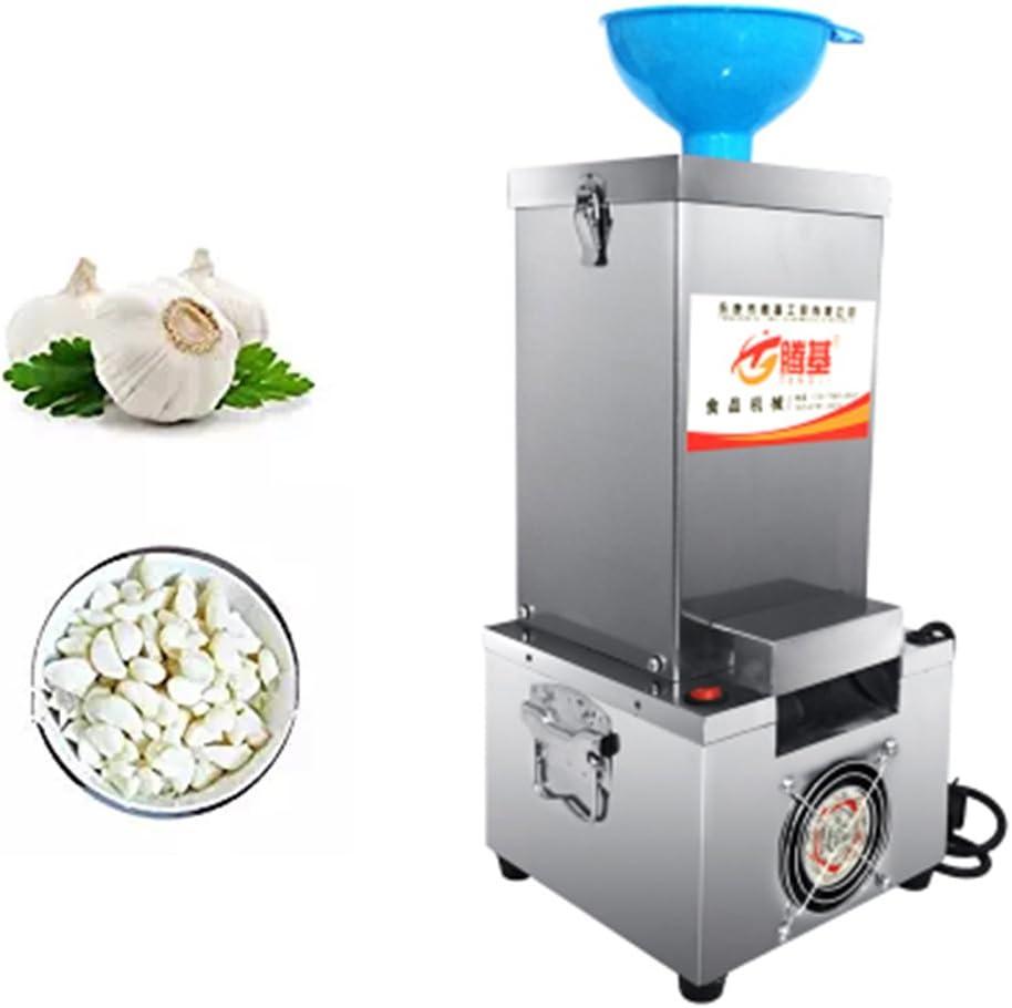 ZGUO Máquina de pelar ajos para Uso doméstico (Solo se Envía a los Estados Unidos) de Acero Inoxidable Eléctrico y Silicona, Máquina de pelar ajos, 22 kg/h