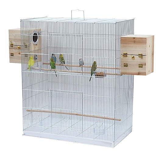 Jaula de cría de aves interior Jaula de baño de aves que incluye ...