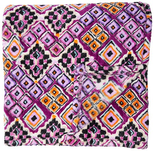 Vera Bradley Travel Blanket, Fleece, dream diamonds