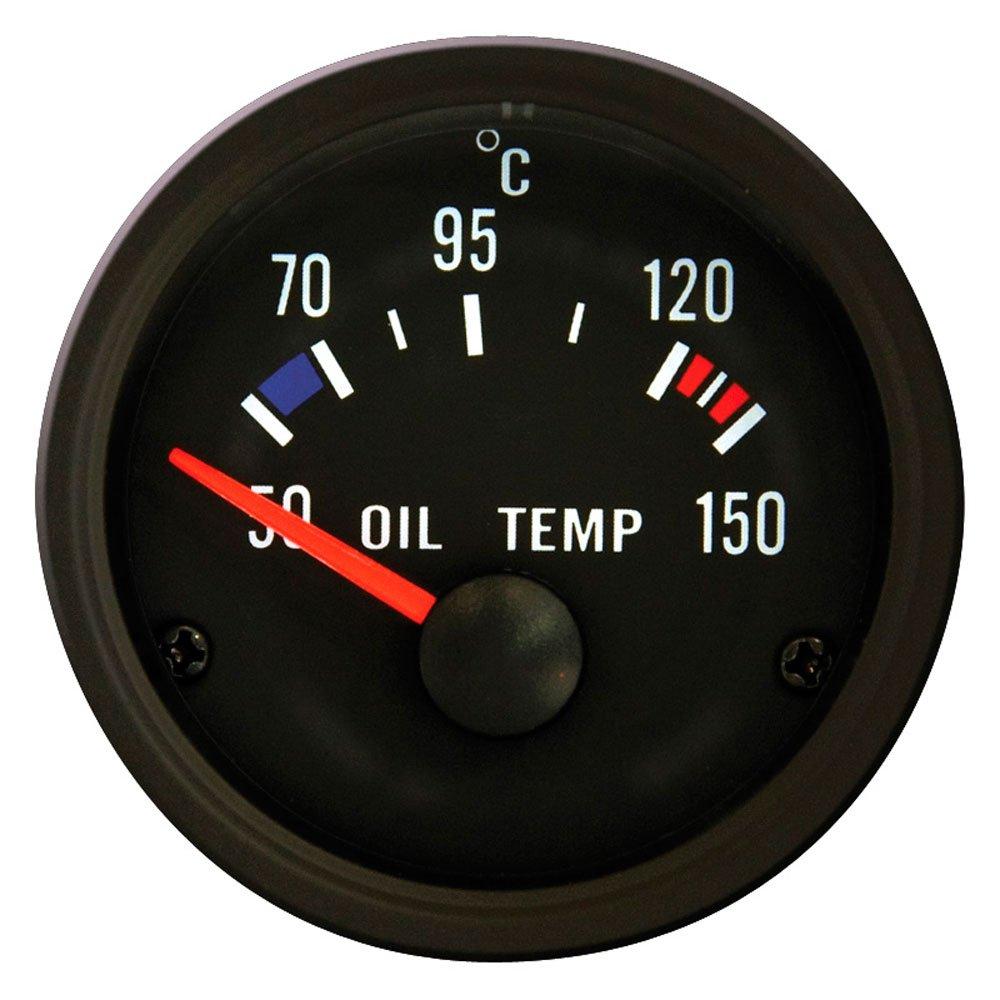 Performance strumento nero temperatura dell' olio 50150 C 52 AUTOSTYLE YOT-12