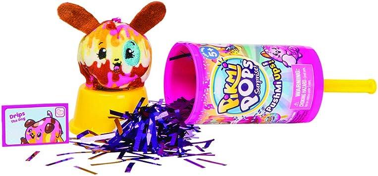 Scented Plush PushMiUps Pikmi Pops Surprise Lot of 4 Confetti Pop