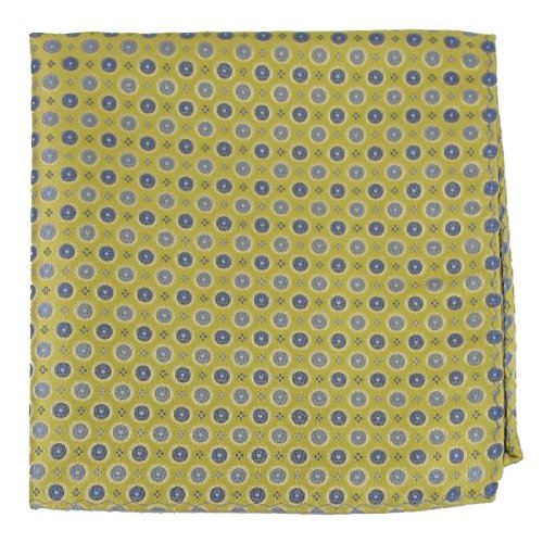 PS-10445 - Yellow - Gray Mens Fashion Pocket - Fashion Sqare