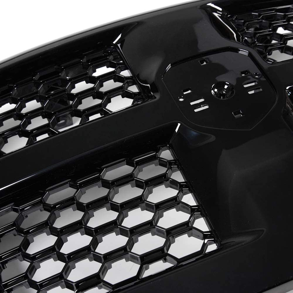 For Dodge Ram 1500 2013-2017 Front Bumper Grille Guard OE Honeycomb Mesh Hood Grill ABS Plastic 2014 2015 2016