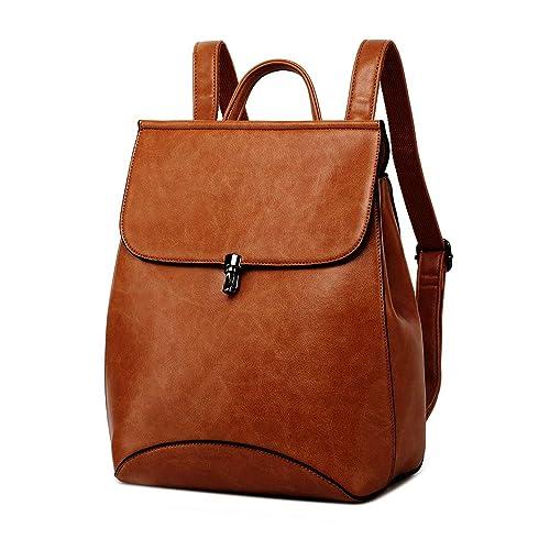 394aba1650f WINK KANGAROO Fashion Shoulder Bag Rucksack PU Leather Women Girls Ladies  Backpack Travel bag