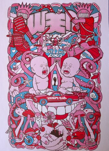 Ween - Live at The Canopy Club - Concert Gig Poster - 10