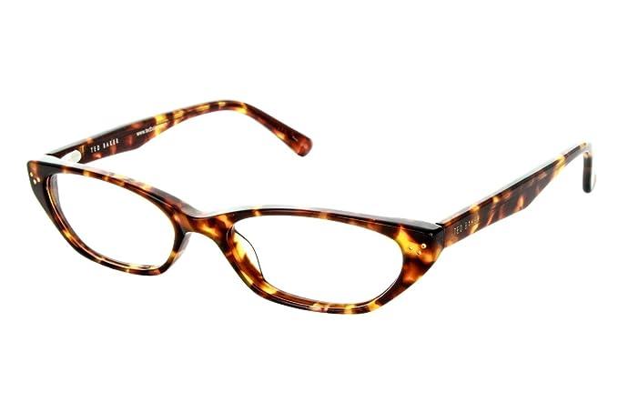Amazon.com: Ted Baker Kara Womens Eyeglass Marcos, Marrón ...
