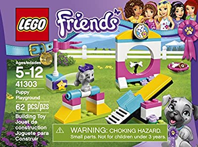 LEGO Friends Puppy Playground 41303 Building Kit by LEGO