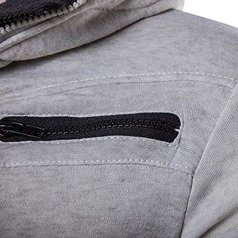 Amazon.com: UOFOCO Fashion Warm Coats Casual Zipper Thermal Hoodie Mens Autumn Winter Tops: Clothing