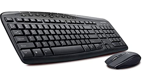 Intex Grace Duo Keyboard and Mouse Combo  Black  Keyboard   Mouse Sets