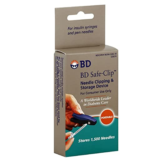 Bd Safe-Clip Needle Clipping And Storage Device - 1 Ea (pack of 3) image may vary