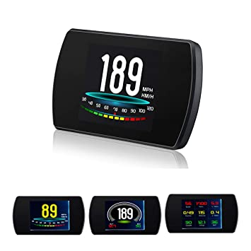 GOFORJUMP P12 5.8 TFT OBD2 Hud Head Up Pantalla Digital ...