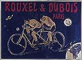 Bike 03 Framed Print 14.46''x20.00'' by Vintage Apple Collection
