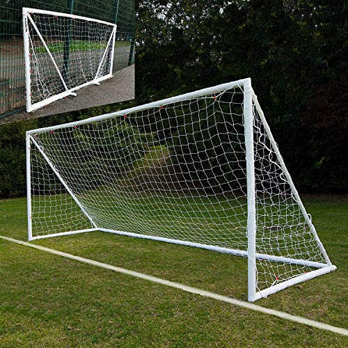 QuickPlay Q-Fold | The 30 Second Folding Soccer Goal for Backyard [Single Goal] (12x6')