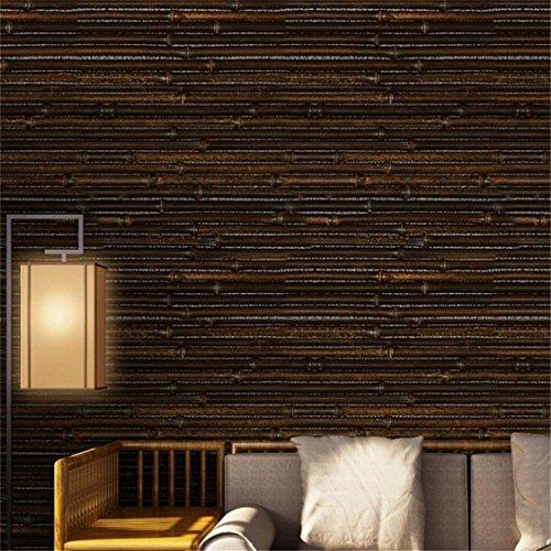 TIFENNY Modern 3D Wall Paper Brick Stone Effect Seamless Self-adhesive Wall Sticker Coverings Room Decor 40x300cm (E)