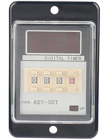 ASY-3DT Relé, DC 24V CA 110 / 220V 0.01-999 5A Anti