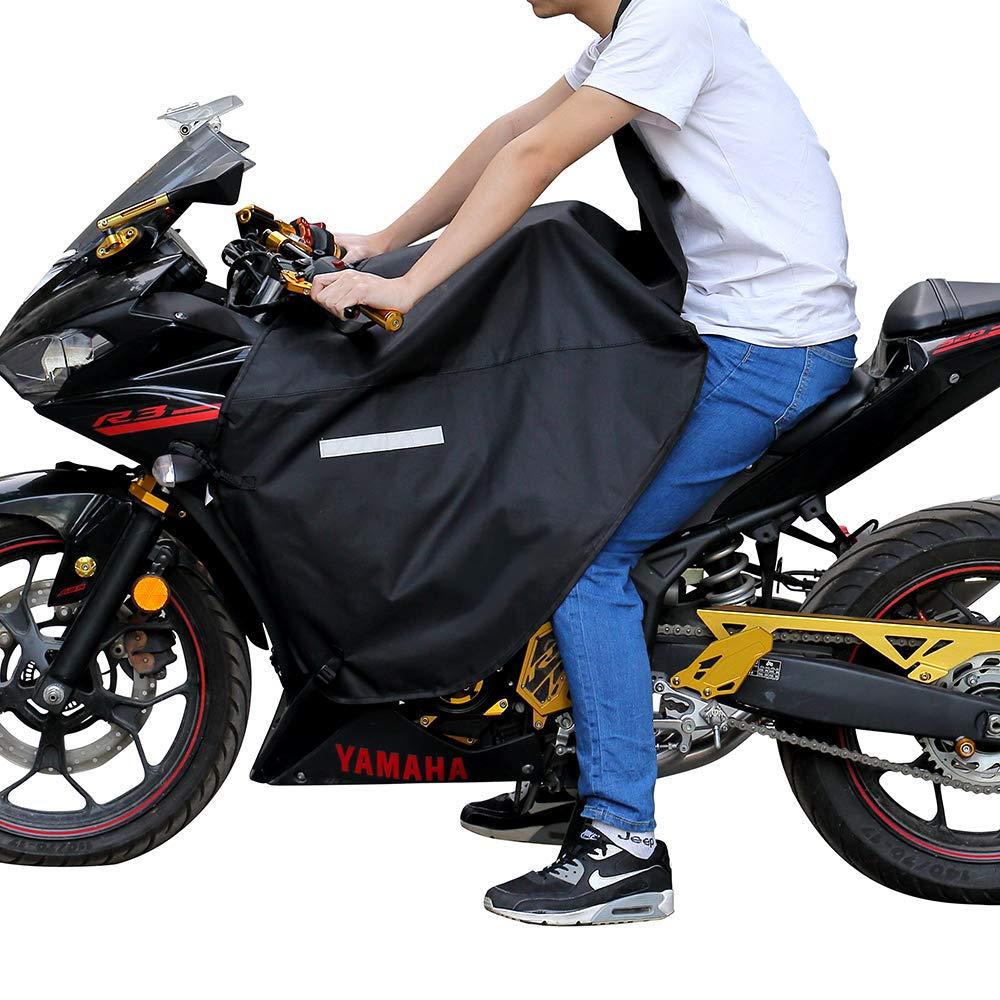 Coprigambe Universale Impermeabile e Antivento per Street Bike Fogli protettivi è teloni Coprigambe Universale Moto Issyzone