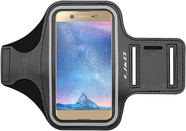 J&D Compatible para Sony Xperia 5/XA1 Ultra/XA2 Ultra/Xperia 10 Plus/Nubia Z20/Realme 6/Realme 6 Pro/Realme X50 Pro 5G Brazalete Deportivo para Correr, Ranura para Llaves, Conexión con Auriculares: Amazon.es: Electrónica