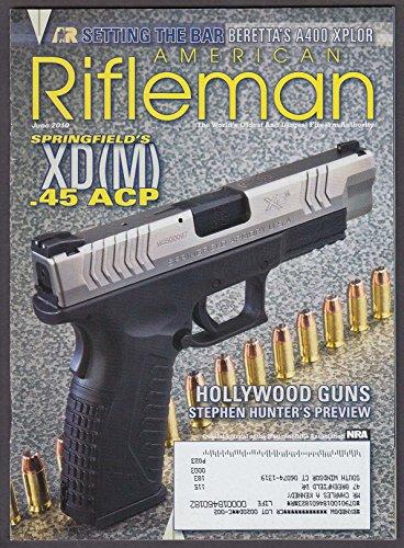 AMERICAN RIFLEMAN Springfield XD (M) .45 Beretta A400 XPLOR Karl Lewis + 6 2010